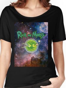 Rick and Morty Galaxy Women's Relaxed Fit T-Shirt