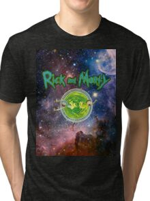 Rick and Morty Galaxy Tri-blend T-Shirt