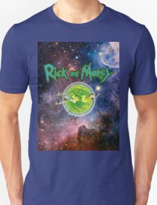 Rick and Morty Galaxy Unisex T-Shirt