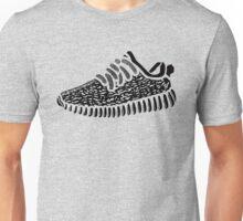 Yeezy Boost 350 - Transparent Black Unisex T-Shirt