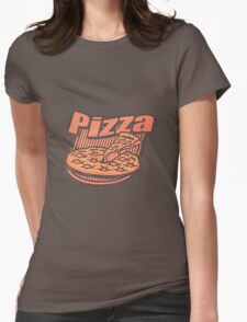 Pizza Box Logo  Womens T-Shirt