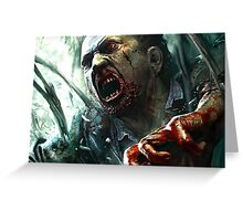 Zombie (Dead Island 2) Greeting Card