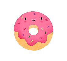 Happy donut Photographic Print