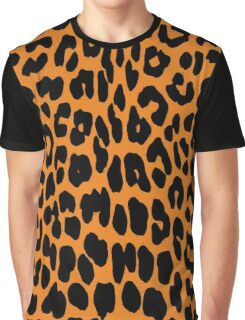 Leopard Pattern Graphic T-Shirt