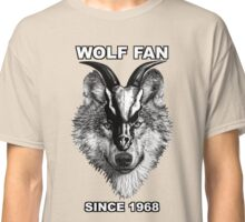 Wolf Fan Since 1968 Classic T-Shirt
