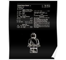 Lego Man Patent 1979 Poster