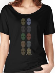 Mask Collection Women's Relaxed Fit T-Shirt