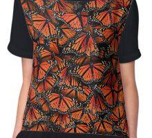 monarch butterflies Chiffon Top