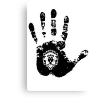 Hand of Ally Canvas Print