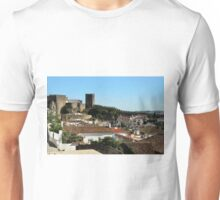 Medieval Obidos, historic walled city in Portugal Unisex T-Shirt