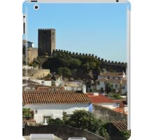 Medieval Obidos, historic walled city in Portugal iPad Case/Skin