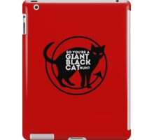 Giant Black Cat - Carmilla Series ; iPad Case/Skin