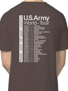 US Army World Tour Classic T-Shirt