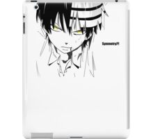 soul eater death the kid iPad Case/Skin