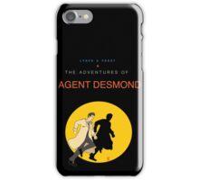 Agent Chester Desmond iPhone Case/Skin