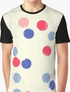 Watercolor Confetti Graphic T-Shirt