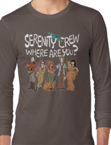 Serenity Crew, Where Are You Long Sleeve T-Shirt