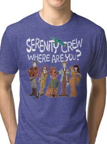 Serenity Crew, Where Are You Tri-blend T-Shirt