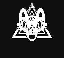 Mystic Wolf Head in White Women's Fitted Scoop T-Shirt