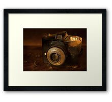 Better days... Framed Print