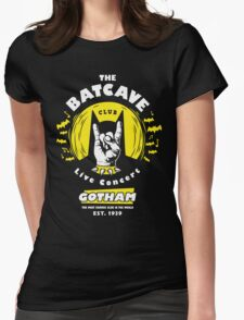 The Batcave Club v2 Womens Fitted T-Shirt