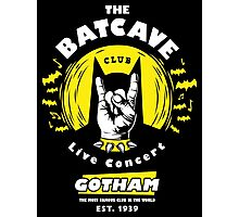 The Batcave Club v2 Photographic Print