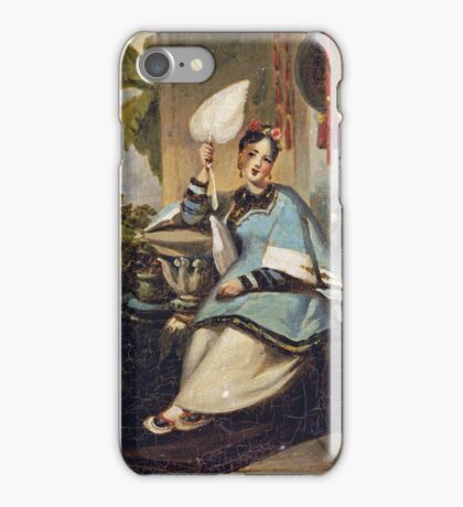 George Chinnery - Portrait Of A Girl iPhone Case/Skin