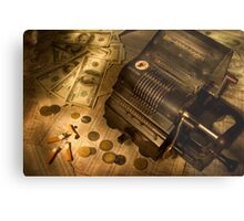 The stock market Metal Print