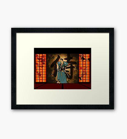Japanese style Framed Print
