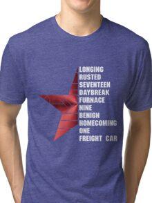 bucky's triggers Tri-blend T-Shirt