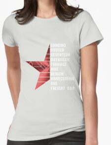 bucky's triggers Womens Fitted T-Shirt