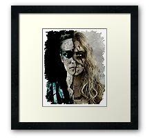 clexa Framed Print