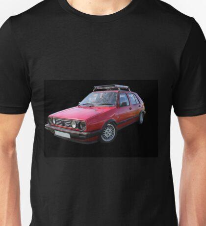 VW Golf GTI Mk2 Unisex T-Shirt