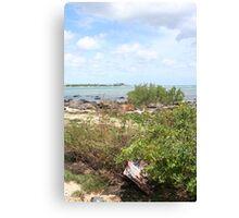 Rusty Shore Canvas Print