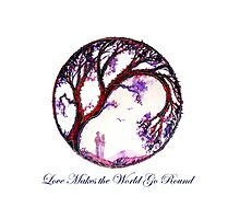 Love Makes the World Go Round Photographic Print