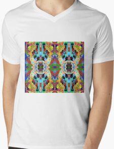 Radiation Mens V-Neck T-Shirt