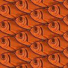 Fish Orange Pattern by Colin Bentham