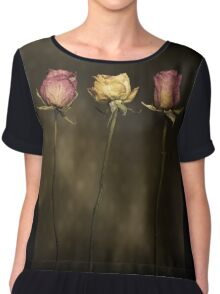 3 Roses Women's Chiffon Top