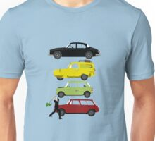 The Car's The Star: Britcoms Unisex T-Shirt