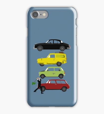 The Car's The Star: Britcoms iPhone Case/Skin