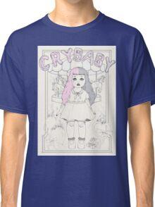 ♡ CRYBABY vintage illustration ♡ Classic T-Shirt