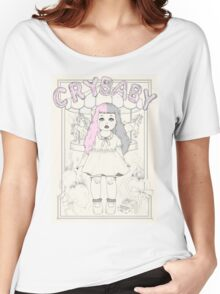♡ CRYBABY vintage illustration ♡ Women's Relaxed Fit T-Shirt