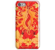 Kundalini, Love, Lotus, red, Flower, Spirituality iPhone Case/Skin