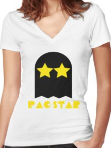 PAC-STAR Women's Fitted V-Neck T-Shirt