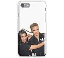 kourtney and Khloe iPhone Case/Skin