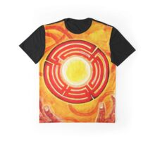 Magic Hands, Spirituality, orange, earth, flower Graphic T-Shirt