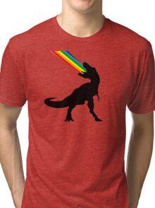 Rainbowsaurous Tri-blend T-Shirt