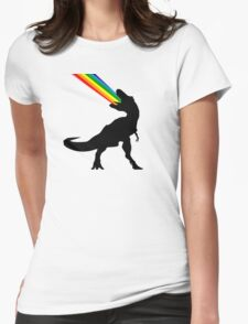 Rainbowsaurous Womens Fitted T-Shirt