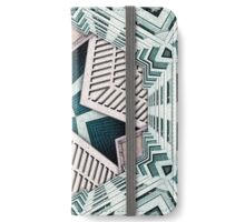 City Buildings Abstract 4 iPhone Wallet/Case/Skin