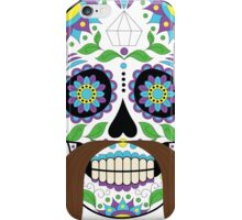 Zombie / Zombies Flower Face iPhone Case/Skin